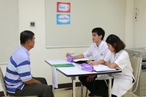 กิจกรรมฝึกทักษะการซักประวัติผู้ป่วย